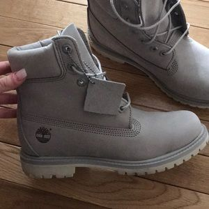 Timberland Shoes - Wolf Grey women s Timberland Boots fc8db79a6d